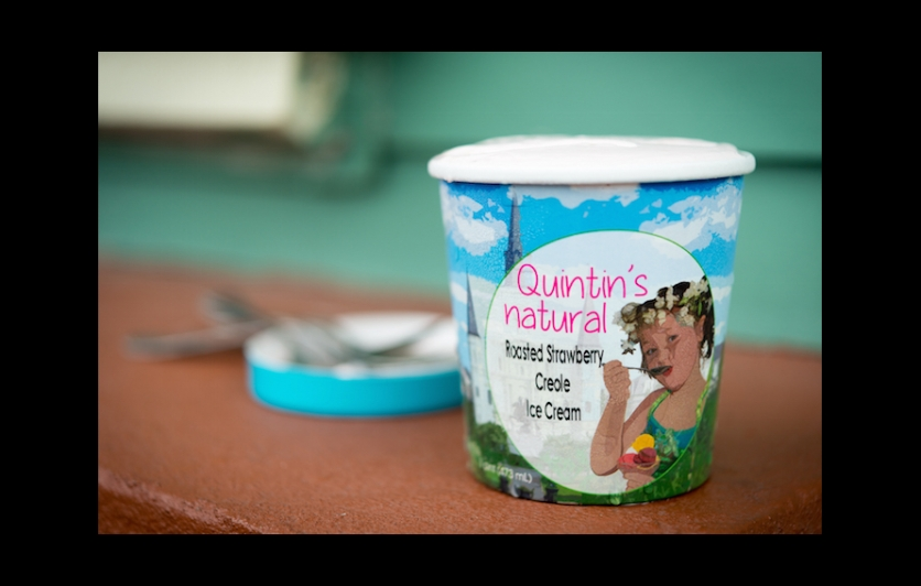 Find Quintin's Natural Ice Cream at top restaurants and year-round festivals in New Orleans