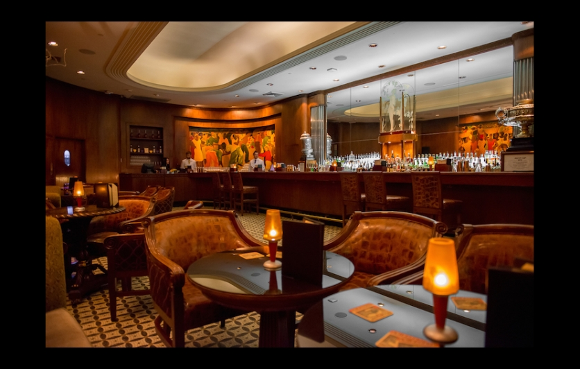 Tucked inside the historic Roosevelt Hotel, the Sazerac Bar is a New Orleans classic