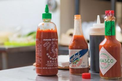 Condiments for ya-ka-mein