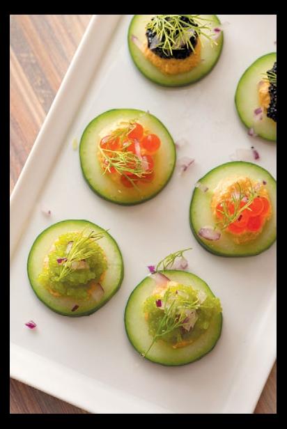 Seaweed Caviar at Seed