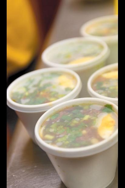 Cups of ya-ka-mein