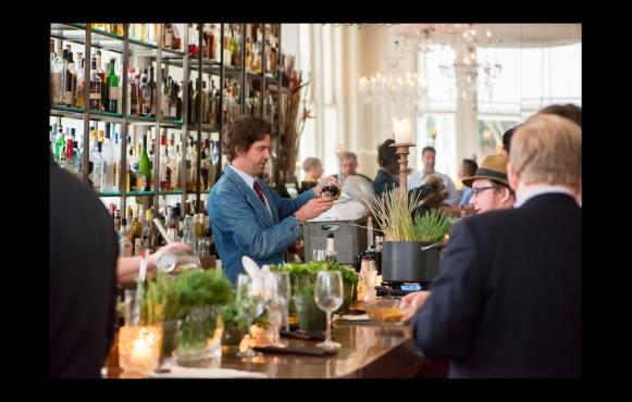 Spirit handler Alan Walter's craft cocktail oasis, Loa, in the International House Hotel